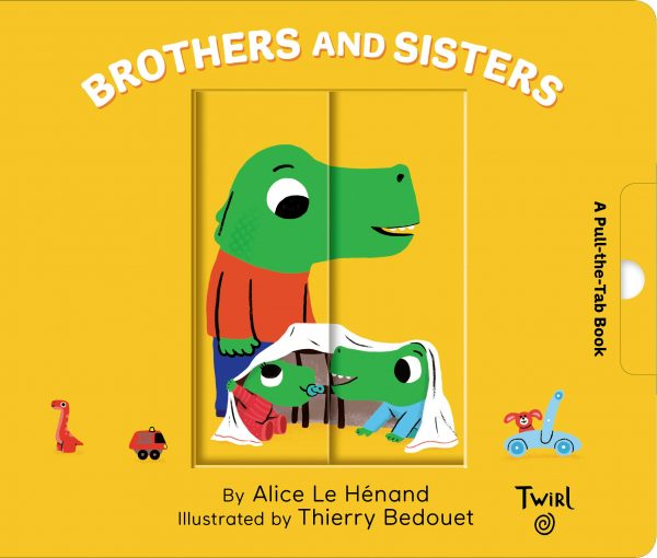 Pull and Play Books: Brothers and Sister