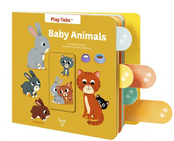 Baby Animals Pull the Tabs