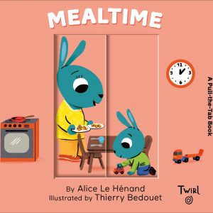 Pull and Play Books: Mealtime