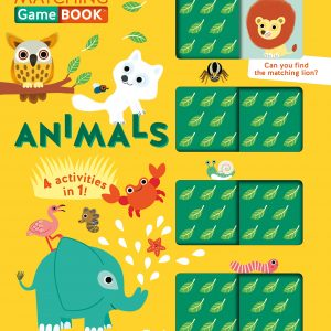 Animals Matching Game Book